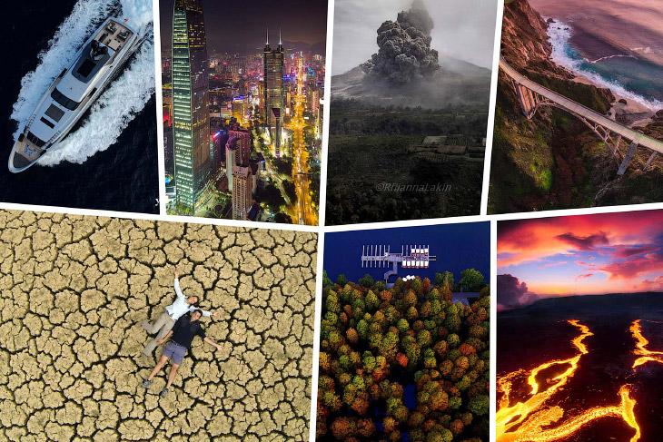 20 красивых фотографий с дрона