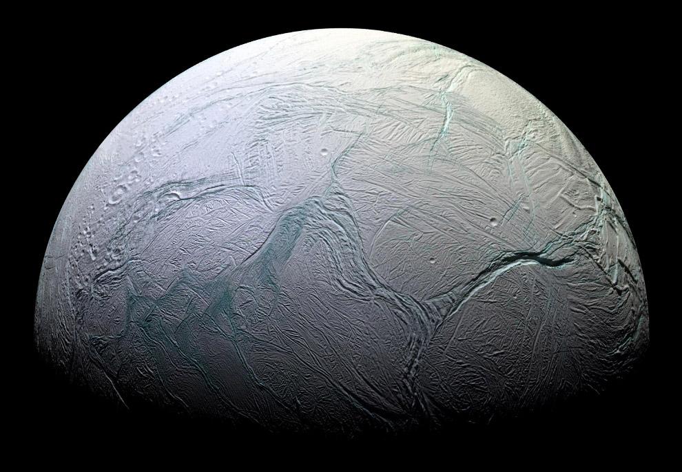 Средний диаметр Энцелада