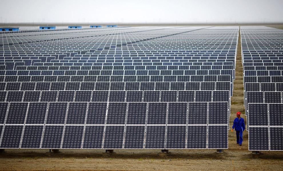 Солнечная электростанция в Дуньхуане