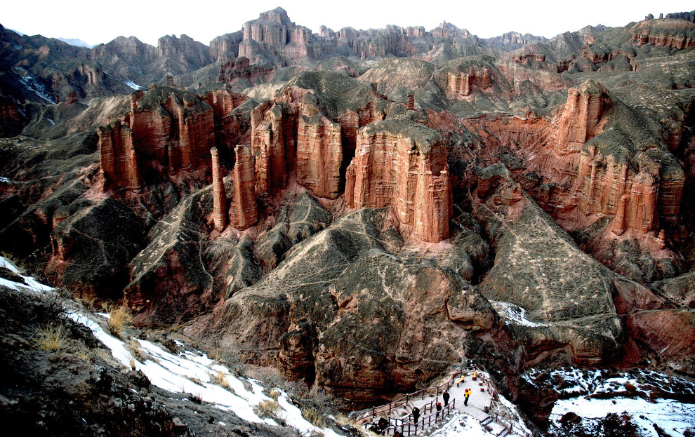 Національний геопарк Чжан'е Данься