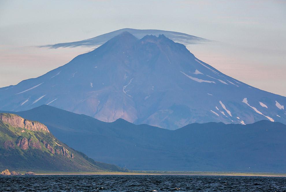 Вулкан Желтовская сопка