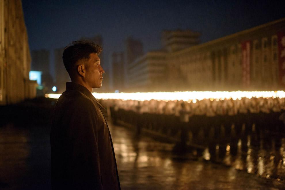 Так закончился грандиозный парад в Северной Корее в честь 70-летия правящей Трудовой партии