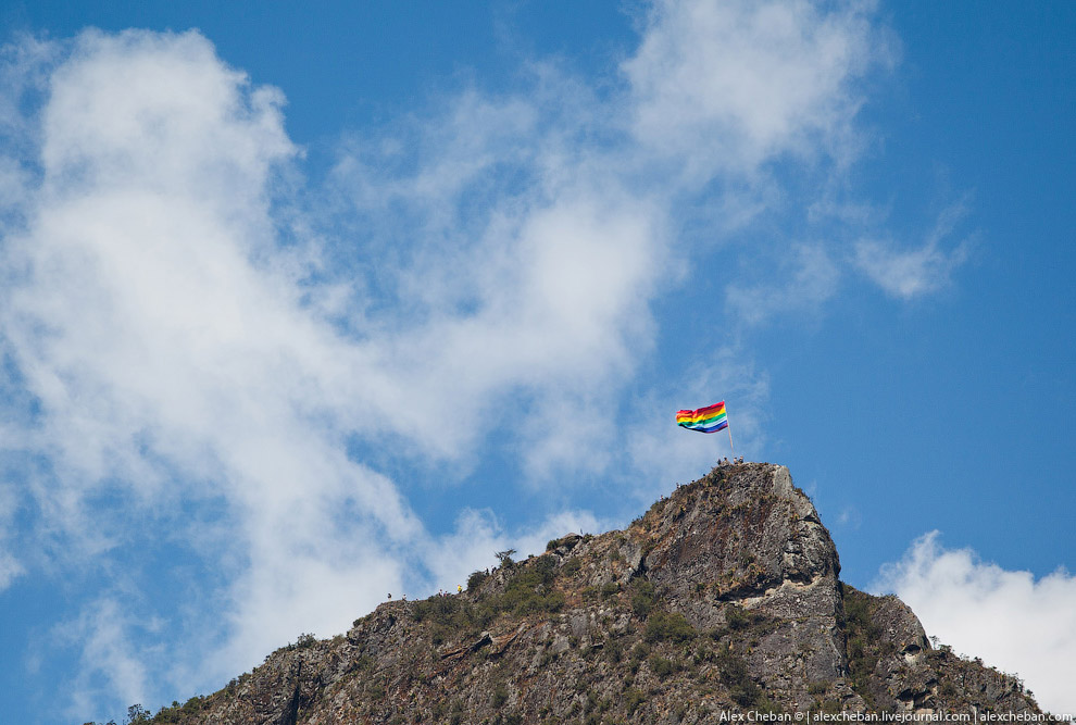 Это флаг древних Инков