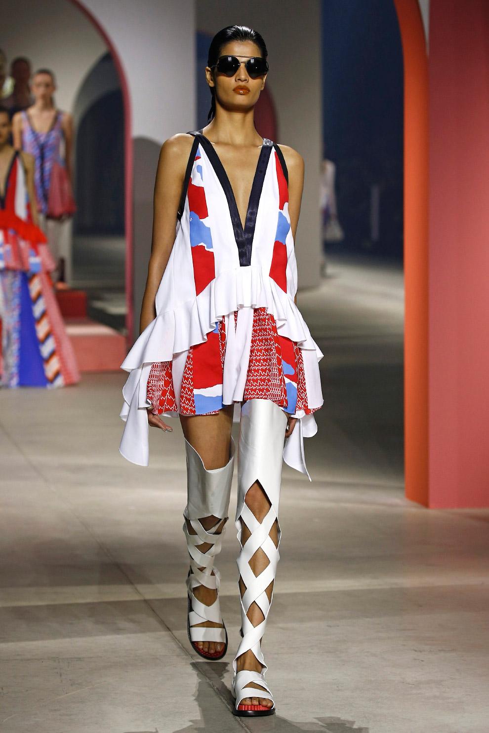 Таким видят сезон весна/лето 2016 американские дизайнеры Умберто Леон и Кэрол Лим