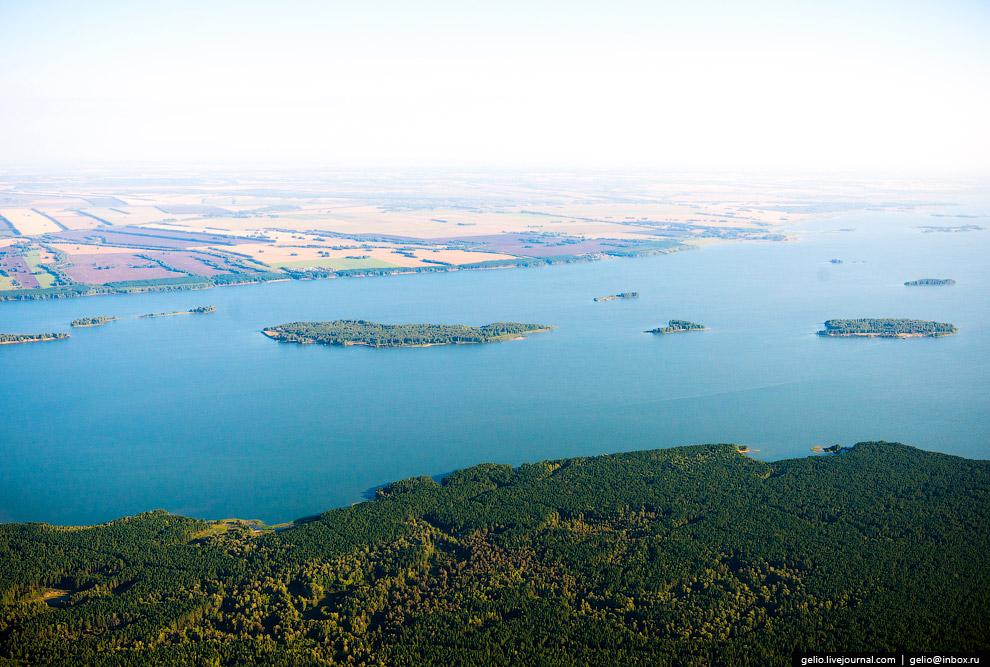 Новосибирское водохранилище («Обское море»)