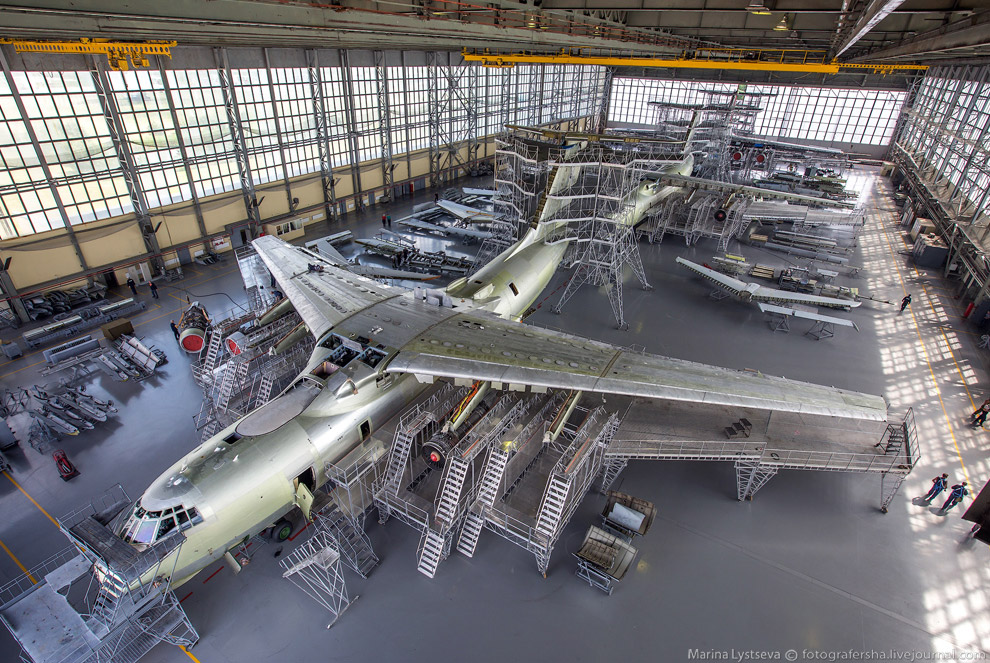 Авиаремонтный завод в Старой Руссе