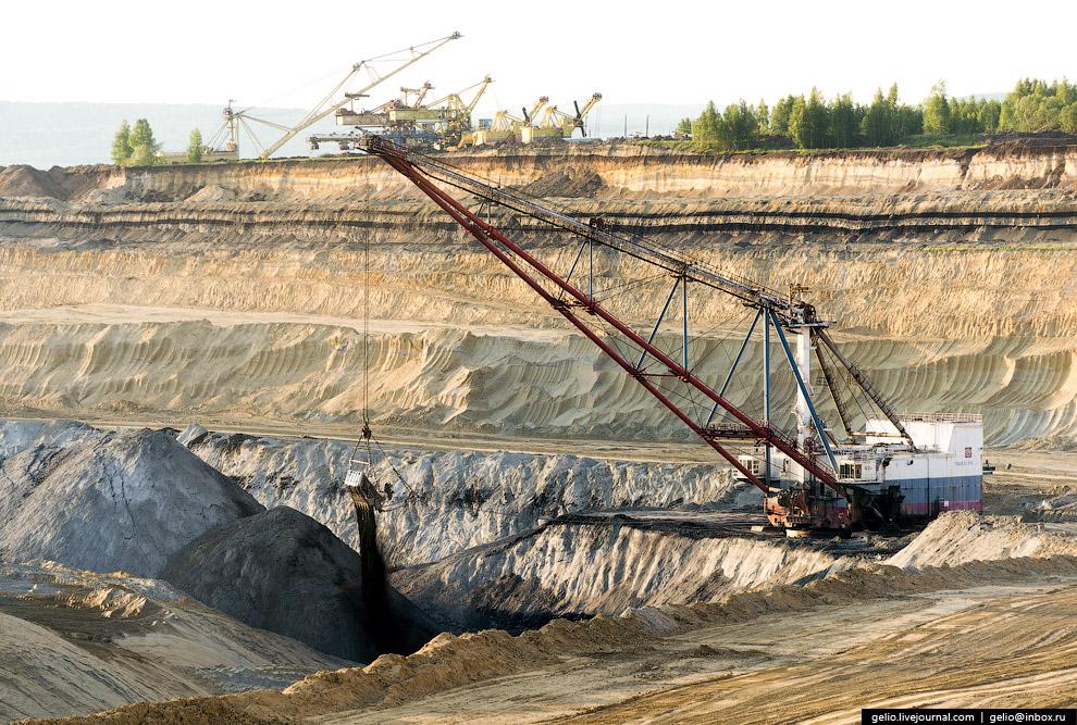 Назаровский угольный разрез