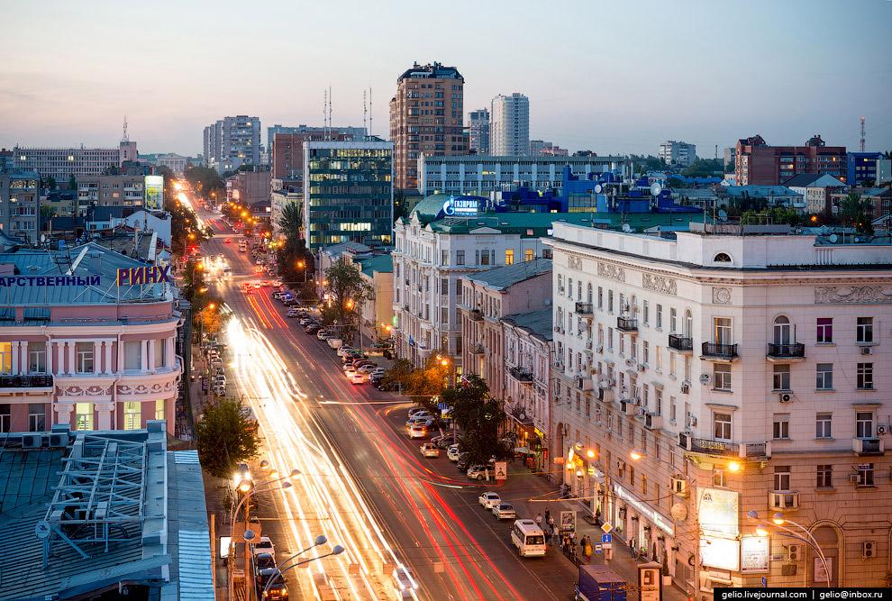 Ворошиловский проспект.