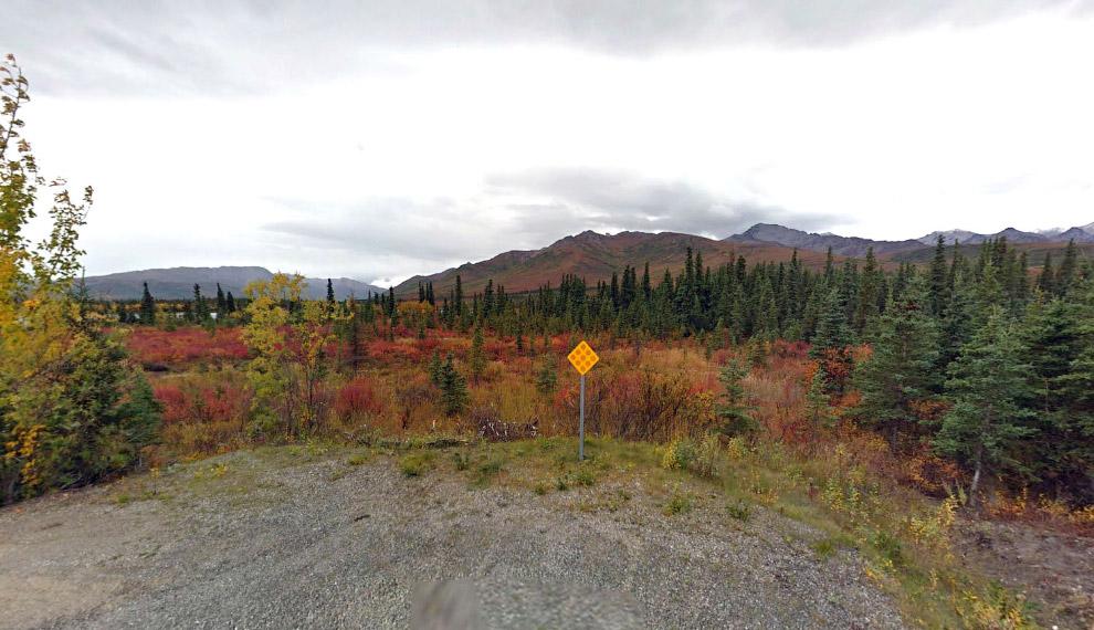 Конец дороги на Аляске