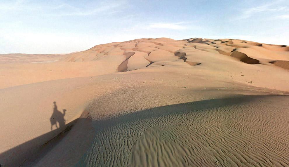 Конец пути в Оазисе Лива — природном заповеднике в ОАЭ