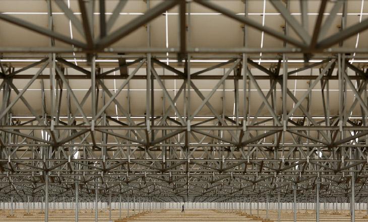 Солнечный коллектор электростанции Андасол, Испания