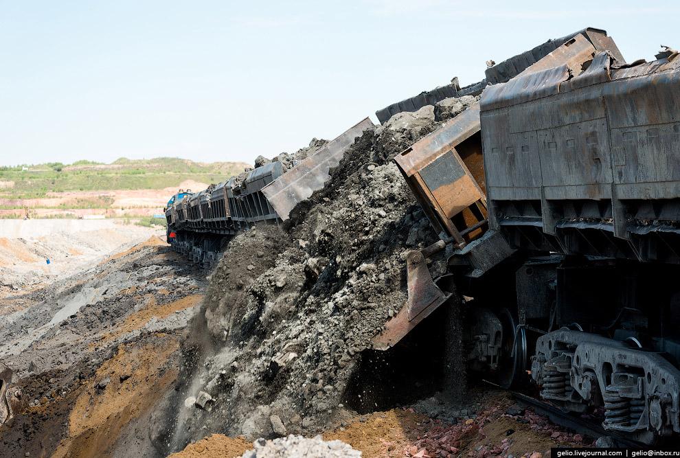 Бородинский угольный разрез