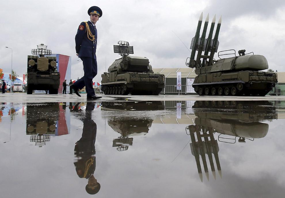 Международный военно-технический форум «Армия-2015» и Бук-1М