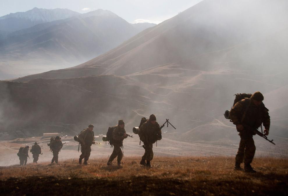 Учения в Северной Осетии