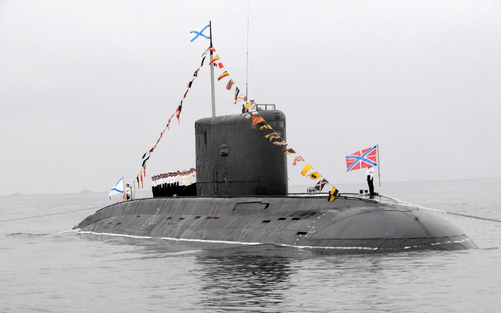Подводники и репетиция парада во Владивостоке