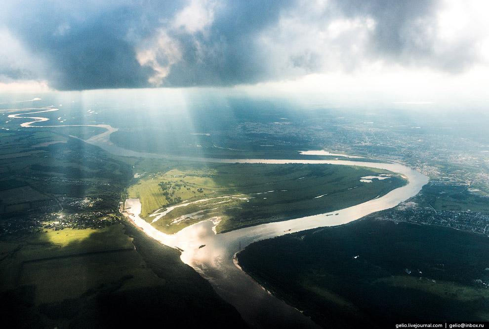 Река Ока вблизи Дзержинска.
