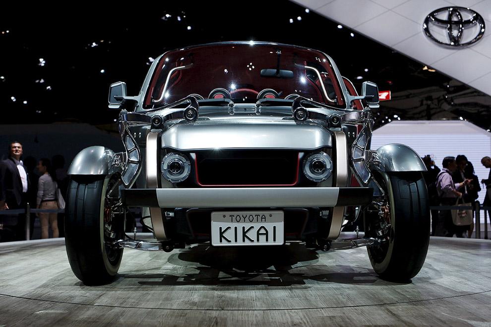 Прекрасный Kikai — концепт от Тойоты