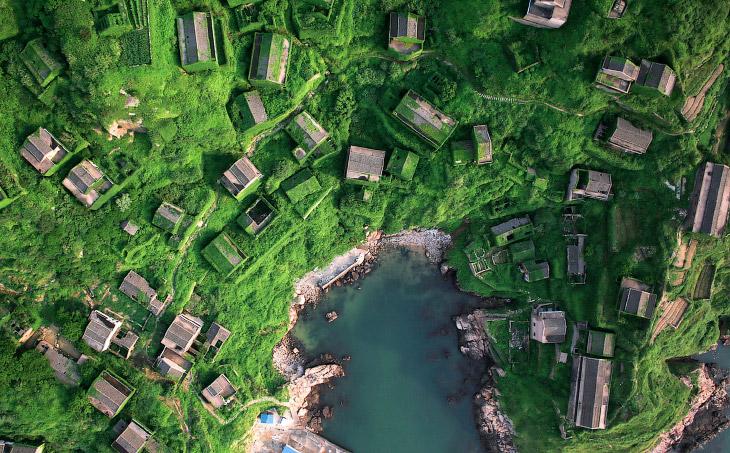заброшенная рыбацкая деревня