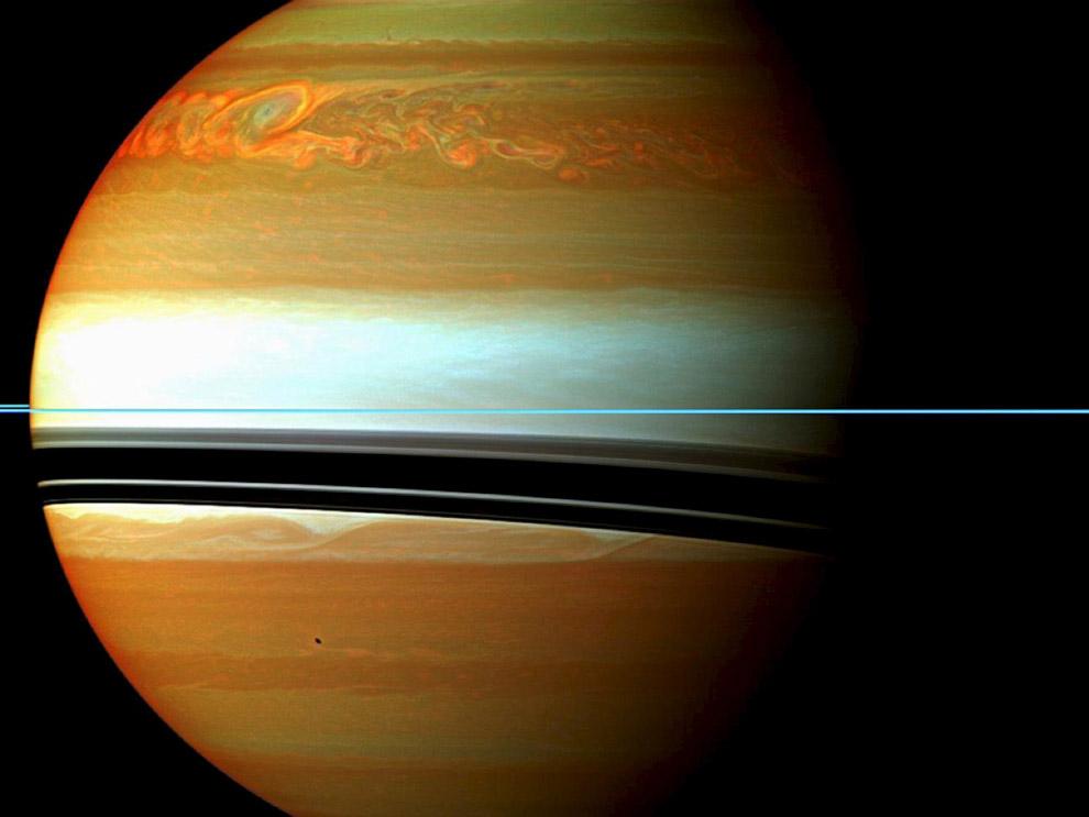 Сатурн и его атмосфера