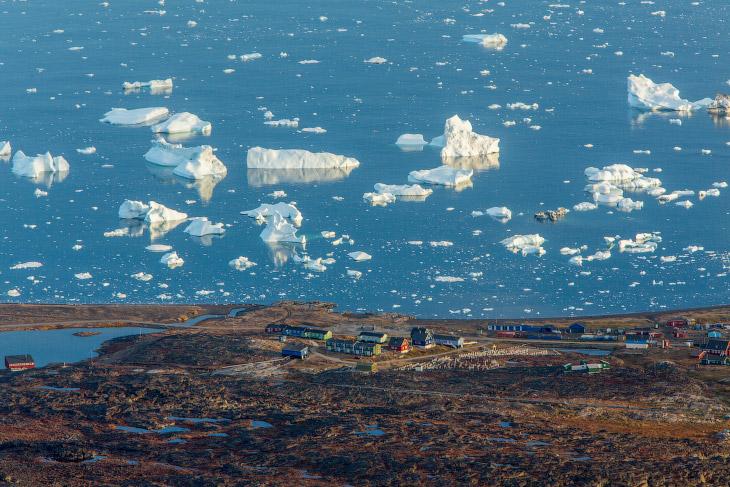 Фьорд Илулиссат, остров Гренландия