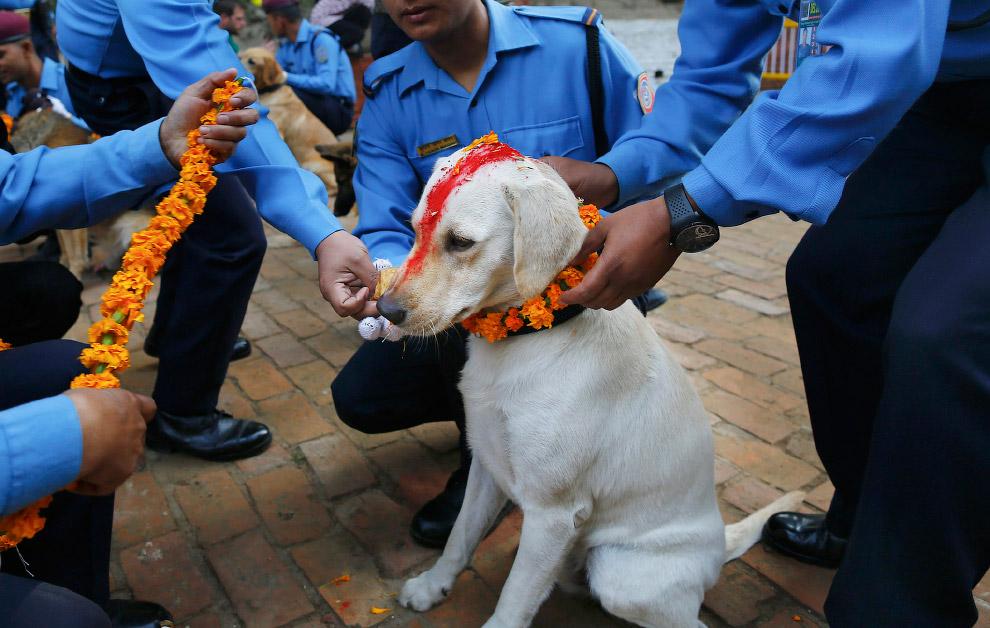 Полицейские в Катманду