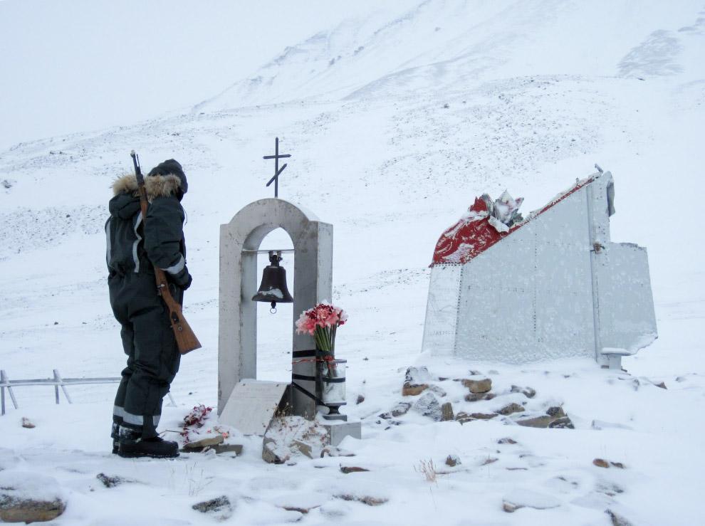 Мемориал на месте авиакатастрофы