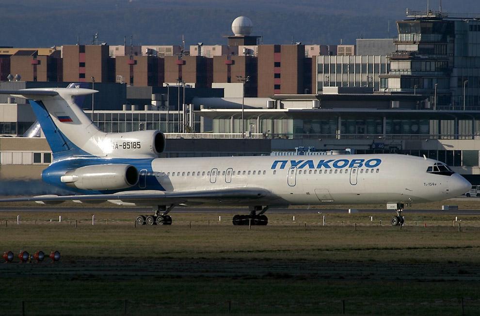 Ту-154М борт RA-85185 за 2 года до катастрофы