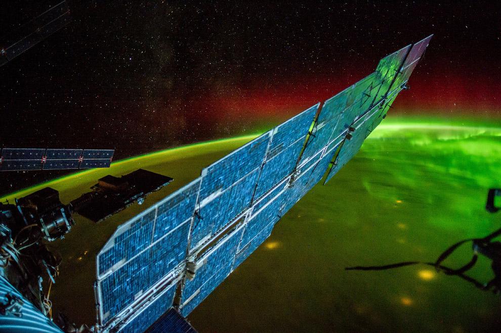 Северное сияние, 13 сентября 2014 года.