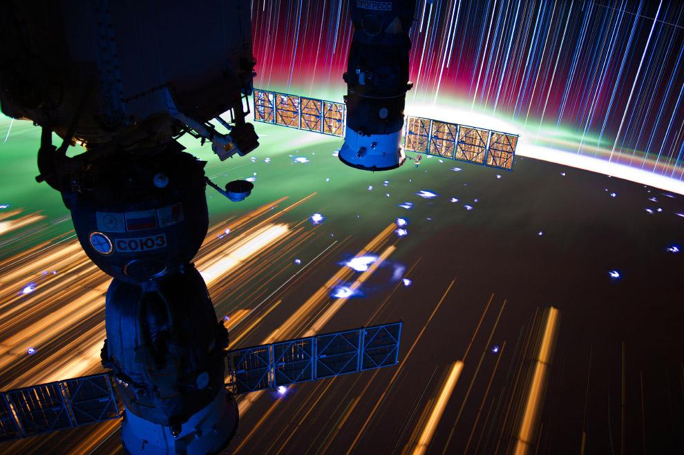Многоместный космический корабль «Союз» и беспилотный грузовик «Прогресс»