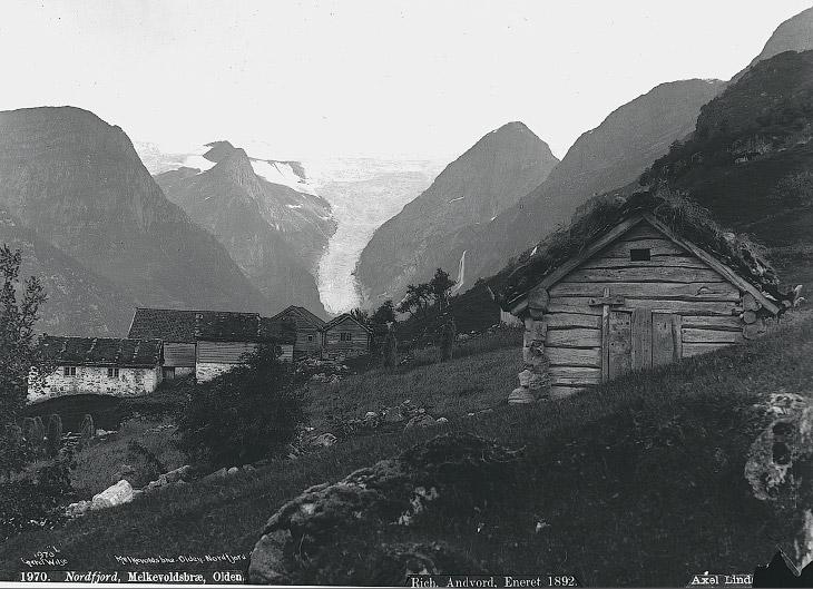 Окрестности ледника Melkevollbreen