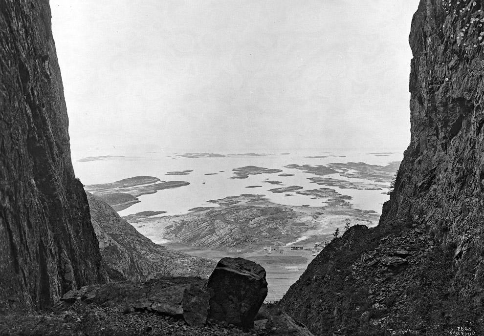 Вид с горы Торгхаттен