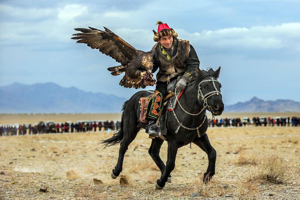 Фестиваль «Золотой орел» в Монголии