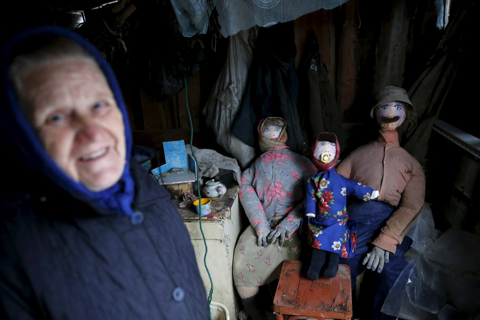 Баба Шура и ее чучельные сожители