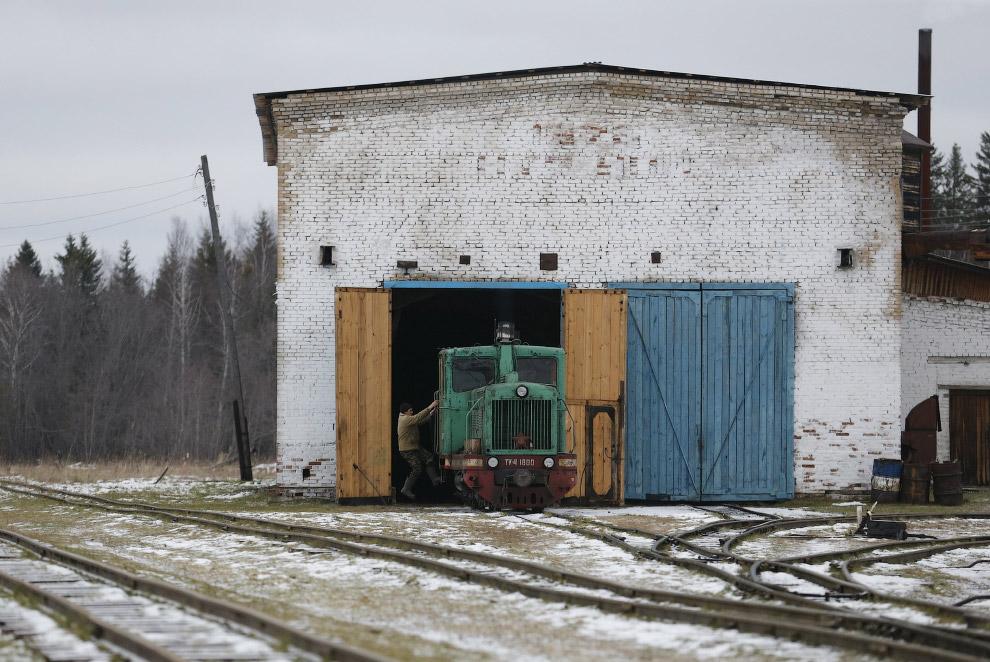 Локомотив в депо