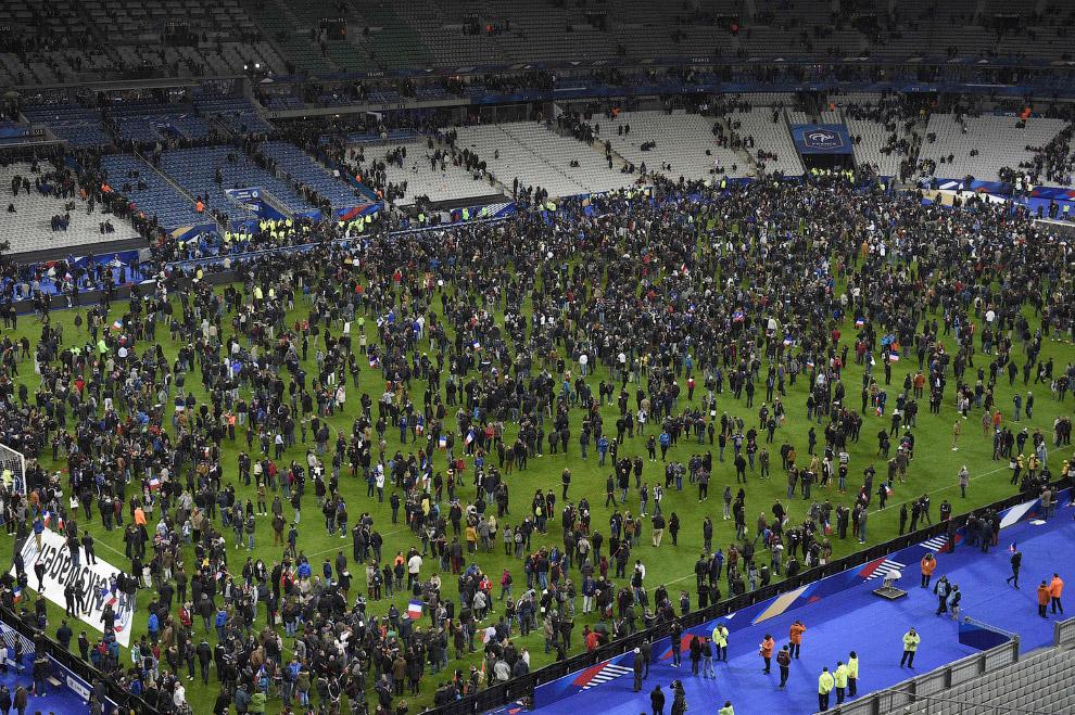 Стадион «Стад де Франс», Париж