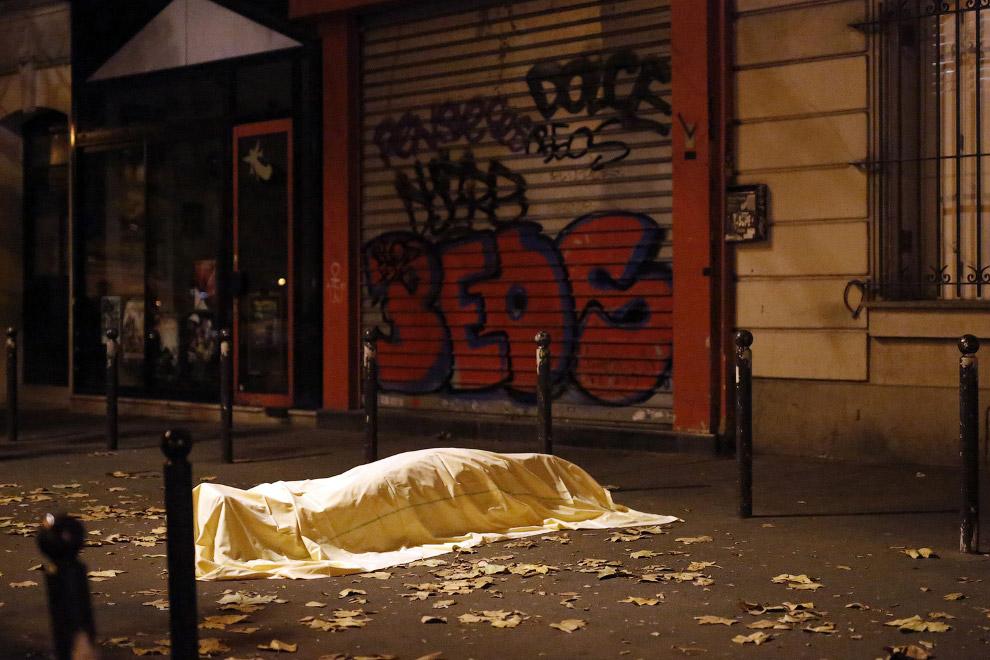 Погибший в терактах в Париже