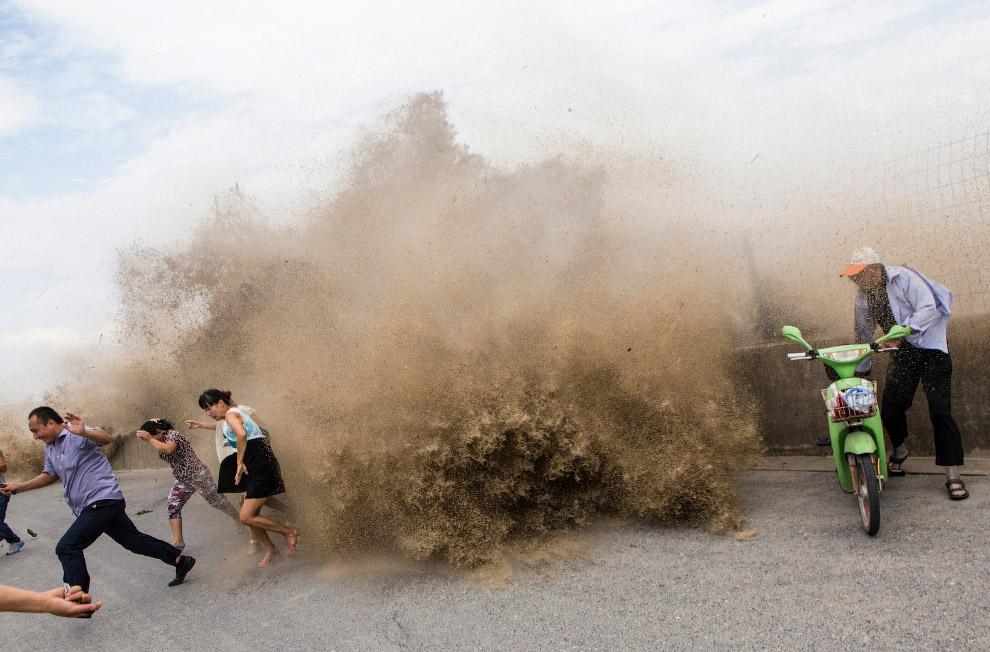 На берегу реки Цяньтан, провинция Чжэцзян