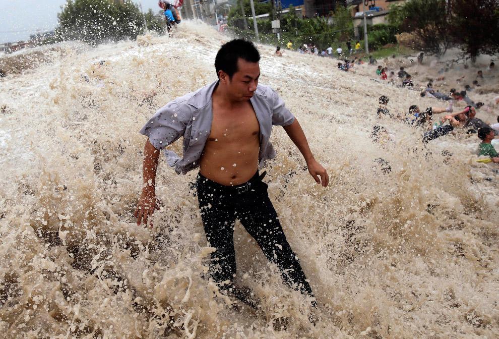 Почувствовал себя суперменом, провинция Чжэцзян