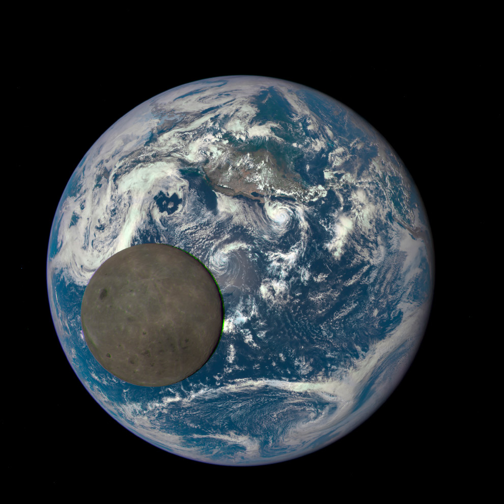 Так выглядит обратная сторона Луны