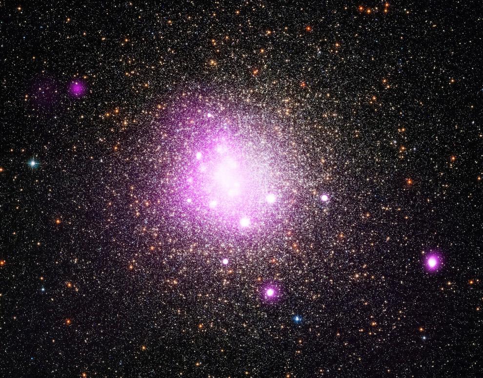 Шаровое скопление NGC 6388 в созвездии Скорпион