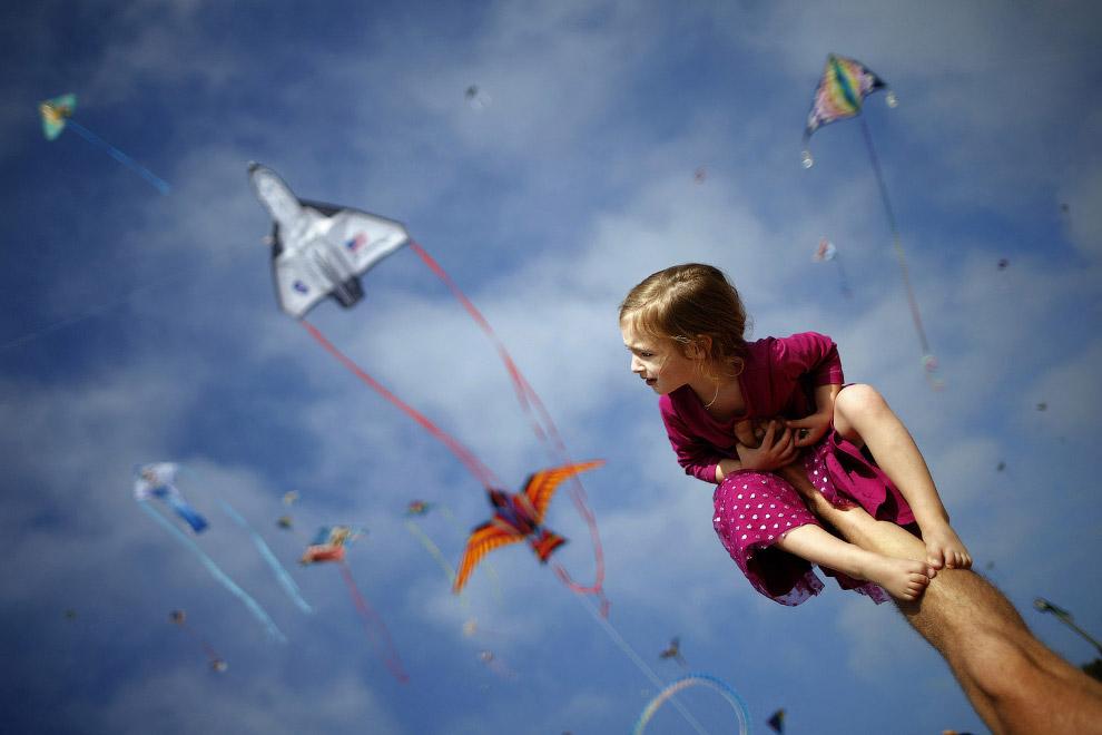 Ближе к небу. Фестиваль воздушных змеев в Калифорнии
