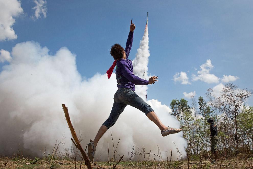 Ракетный фестиваль в Таиланде