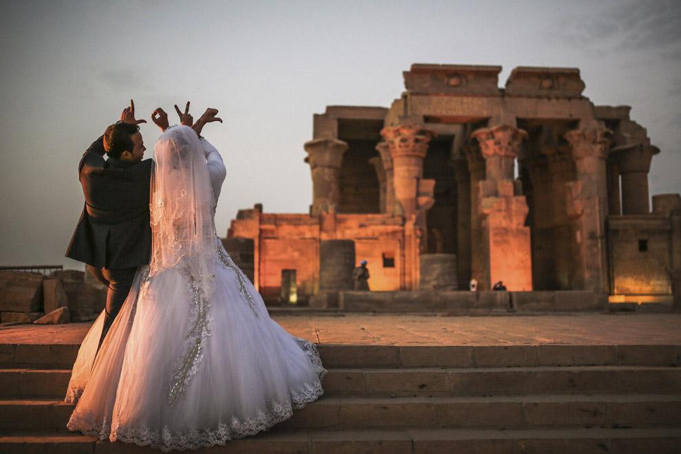 Молодожены в Египте