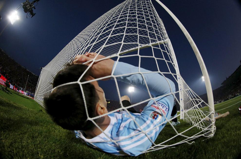 Лионель Месси улетел в ворота на Национальном стадионе в