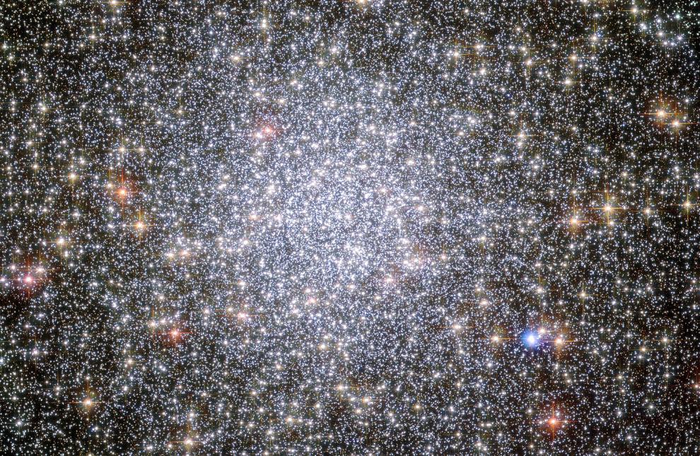 Шаровое скопление 47 Тукана в созвездии Тукан