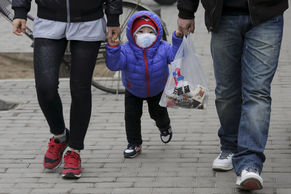 Маски как часть моды в Китае