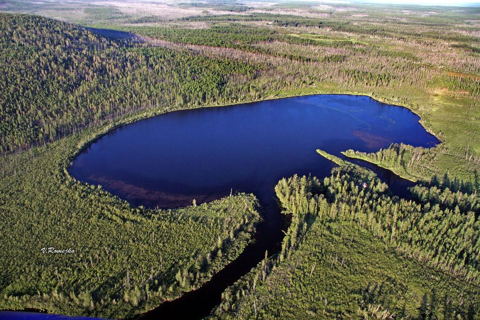 озеро Чеко на реке Кимчу
