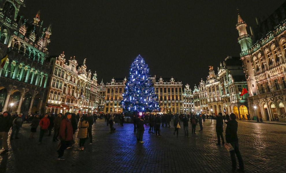 В центре Брюсселя, Бельгия