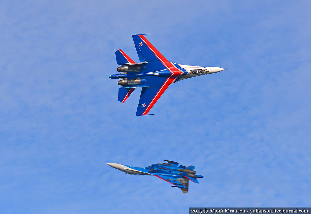 «Русские Витязи» в Севастополе
