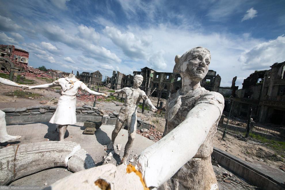 Декорации к фильму «Сталинград»